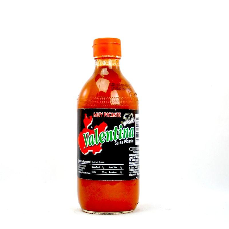 Salsa Valentina Etiqueta Negra (muy picante) - 370ml Valentina   www ...