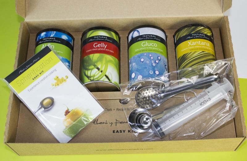 Easy Kit de esferificaciu00f3n Albert y Ferru00e1n Adriu00e1 : www.cocinista.es