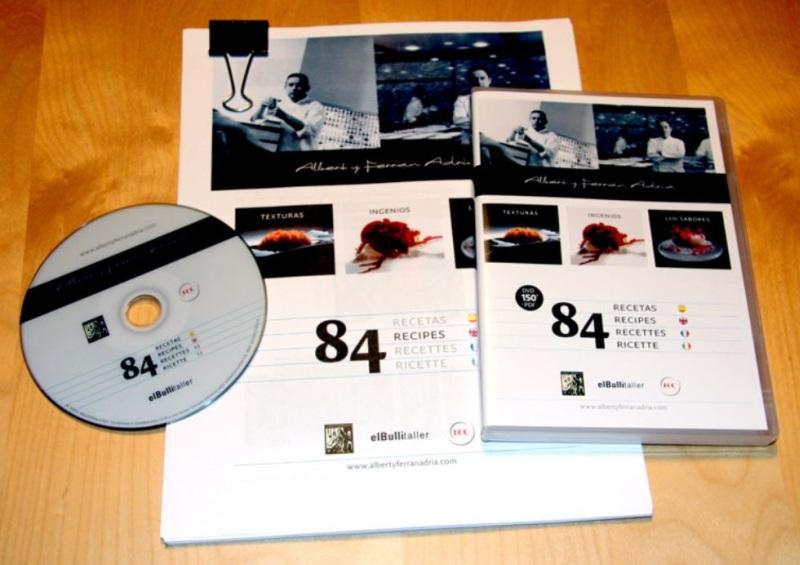 84 recetas de albert y ferr n adri dvd duraci n 150m for Gastronomia molecular pdf