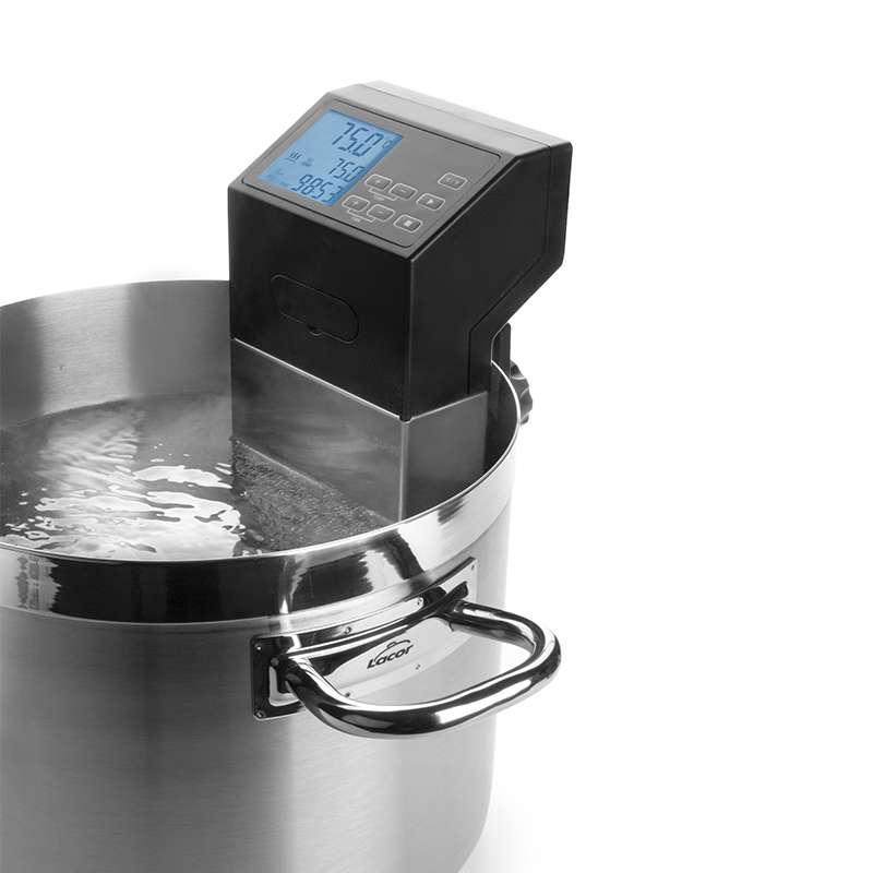 Cocedor a baja temperatura 1400w lacor for Cocina baja temperatura