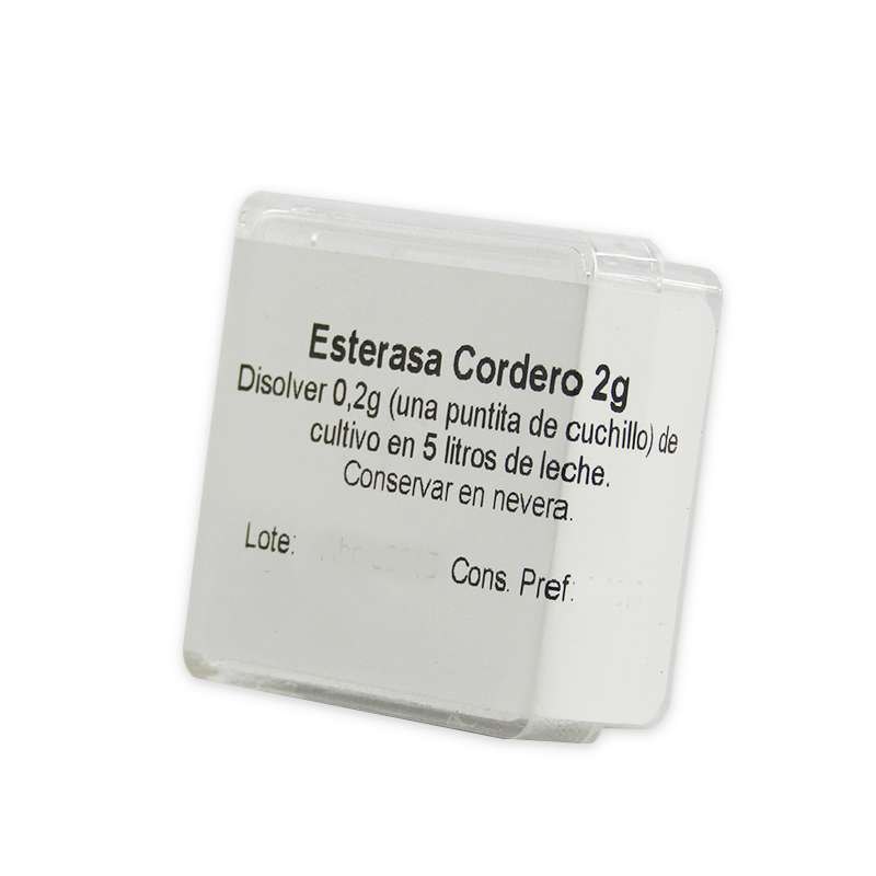 Esterasa de cordero - 2 g Abiasa   www.cocinista.es