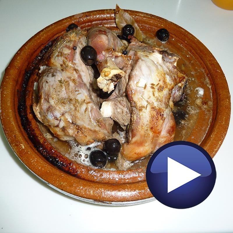 Receta de cordero en taj n al horno - Cordero estilo marroqui ...